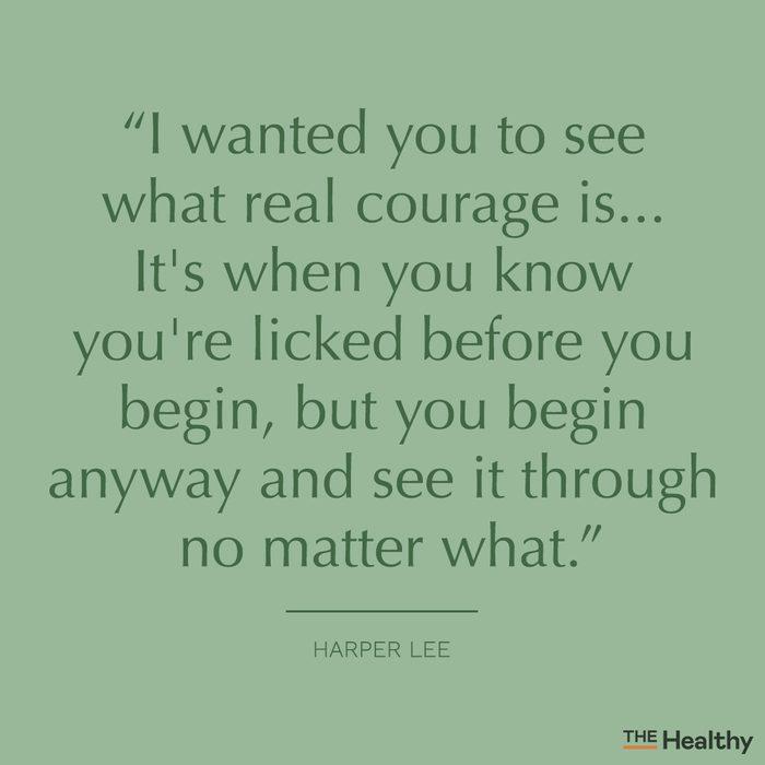 harper lee self motivation quote