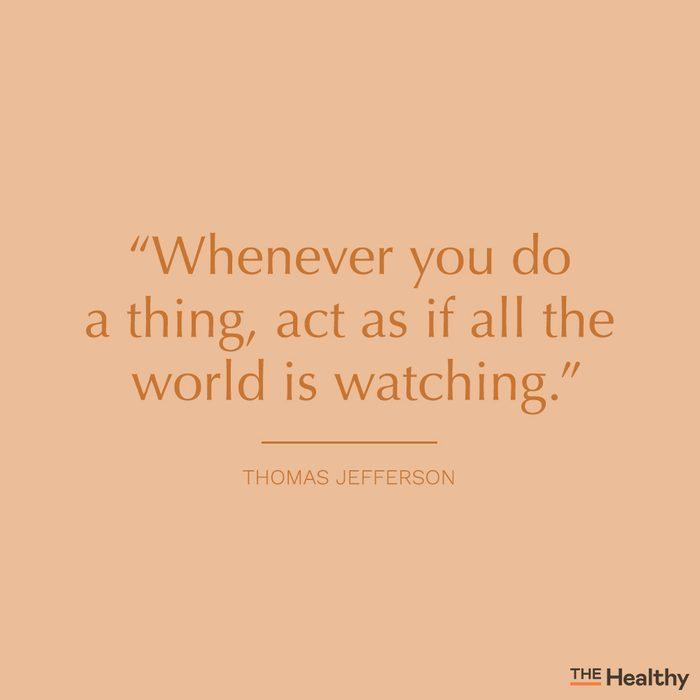 thomas jefferson self motivation quote