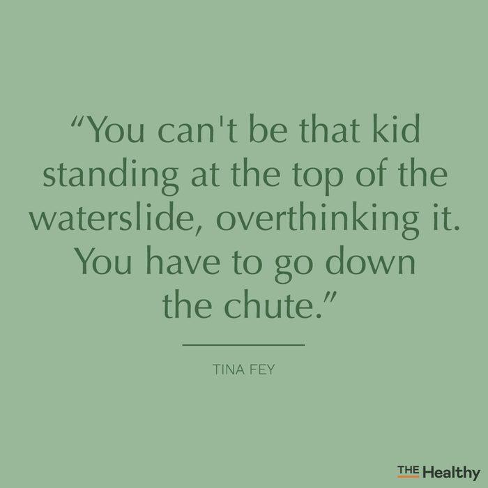 tina fey self motivation quote