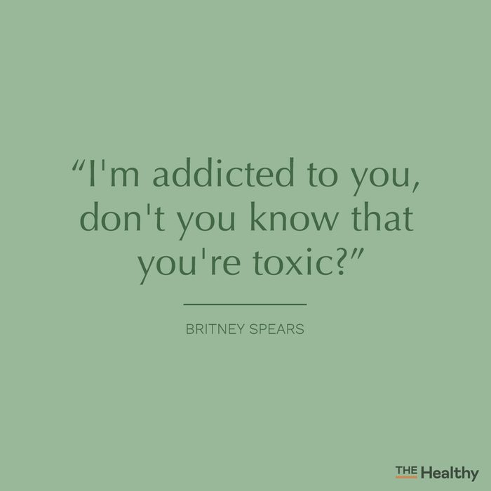 britney spears toxic quote