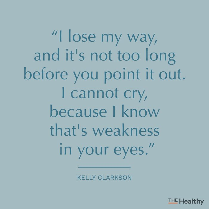 kelly clarkson toxic people quote