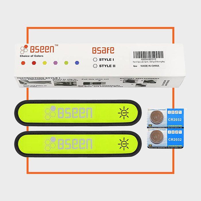 BSEEN Glow-In-The-Dark Running Armband