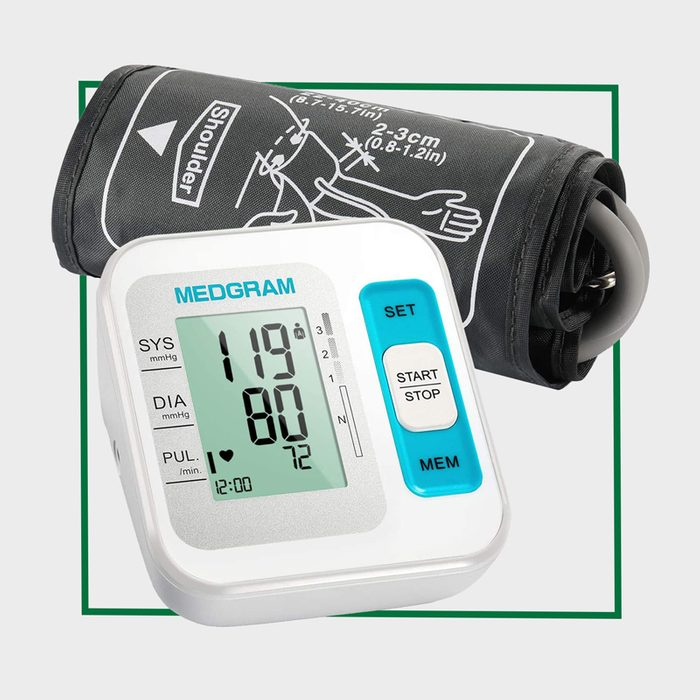 MEDGRAM Blood Pressure Monitor Upper Arm