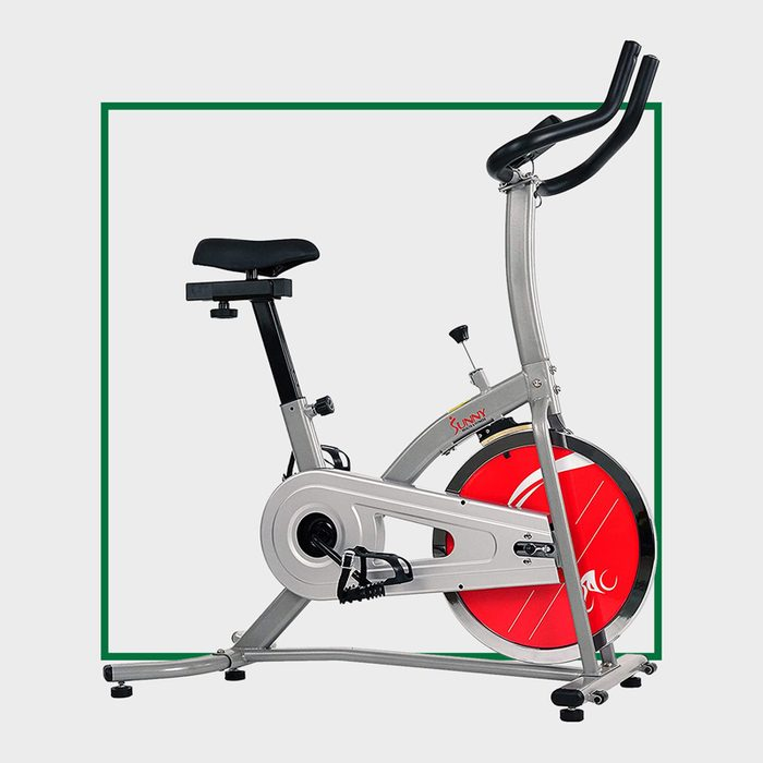 Sunny Health & Fitness Indoor Exercise Stationary Bike with Digital Monitor