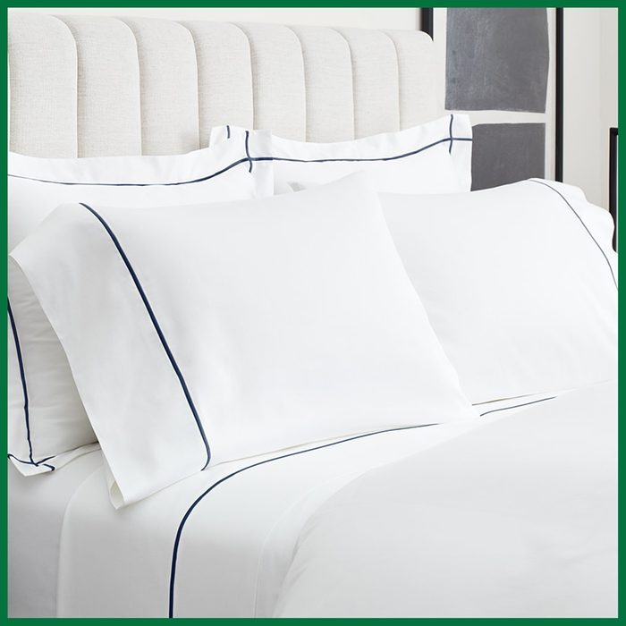 Boll & Brand Embroidered Sheet Set