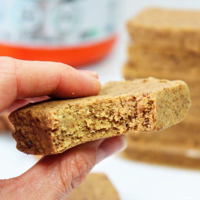 snickerdoodle vegan protein bars