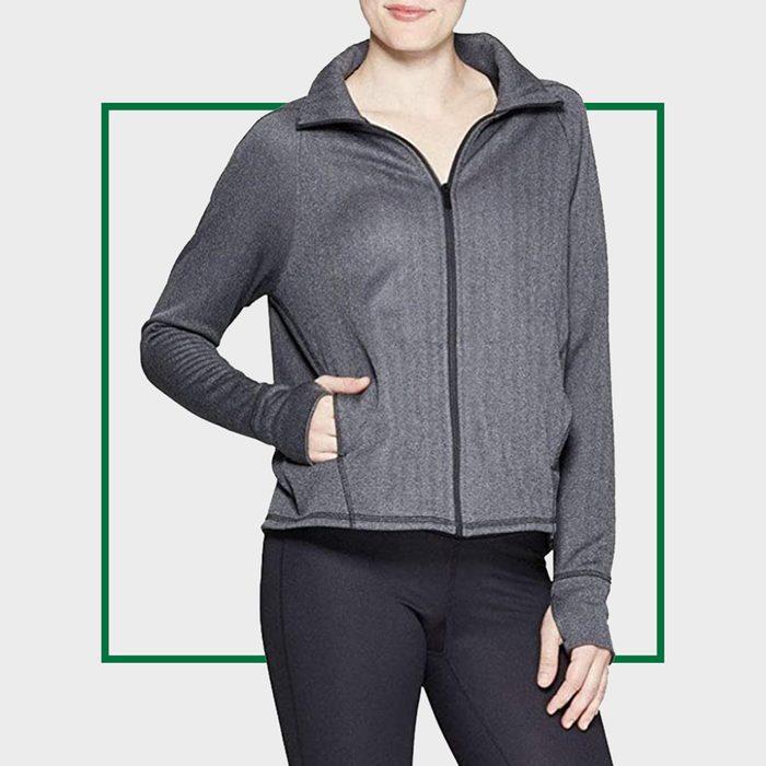 Champion C9 Women's Training Herringbone Fleece Full Zip Track Jacket