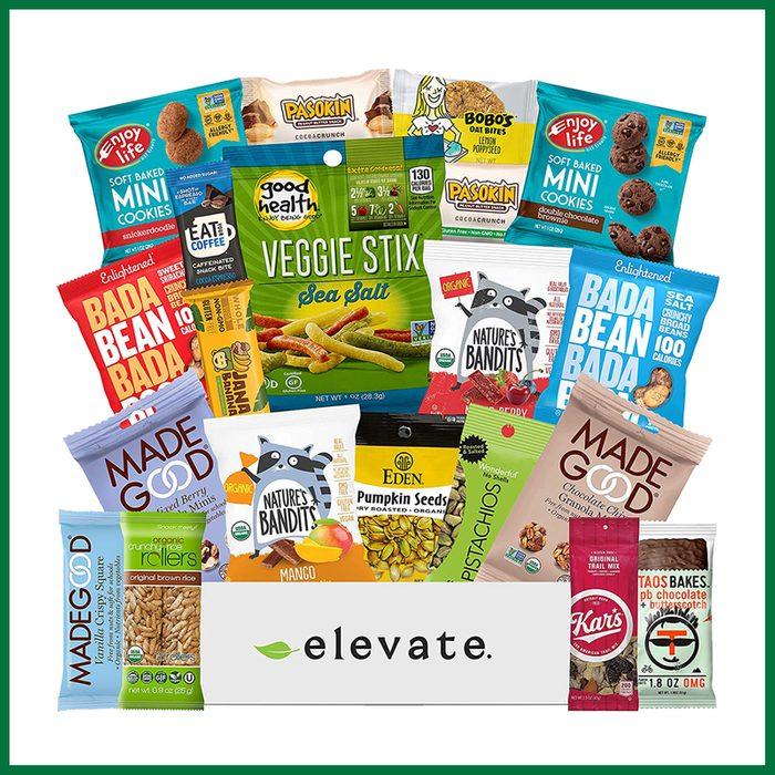 Elevate Gluten-Free and Vegan Premium Snacks Basket