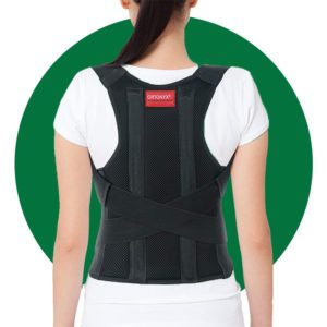 ORTONYX Comfort Posture Corrector Clavicle and Shoulder Support Back Brace
