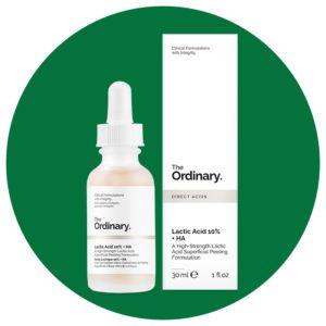 The Ordinary Lactic Acid 10% + HA, $5