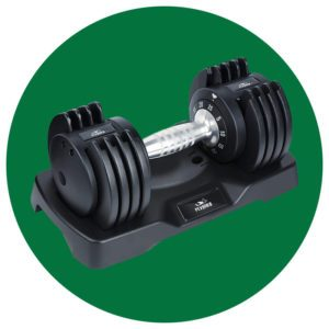 adjustable dumbells