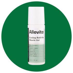 allevita cooling roll on muscle gel