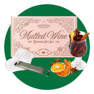 Cooking Gift Set   9 PC Mulled Wine Cocktail DIY Kit