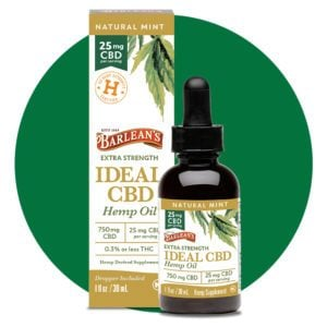 Barleans Ideal CBD Hemp Oil Extra Strength 750 mg