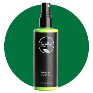 CBD For Life Topical Spray