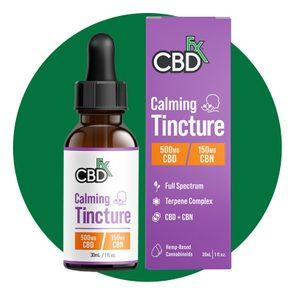 CBDFx CBD + CBN Oil Calming Tincture 500 mg
