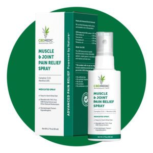 CBD Medic Muscle & Joint Pain Relief Spray