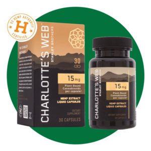 Charlotte's Web 15 mg CBD Oil Liquid Capsules