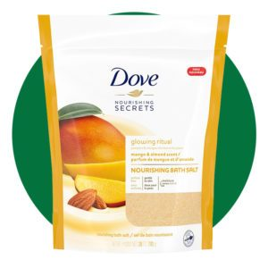 Dove Glowing Ritual Mango and Almond Scent Bath Salts