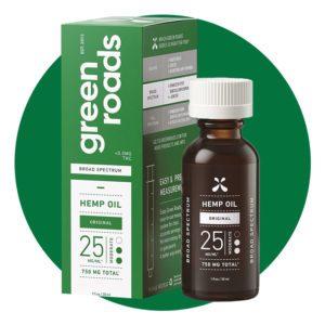 Green Roads Broad Spectrum Hemp Oil 750 mg