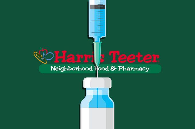 harris teeter flu shot illustration