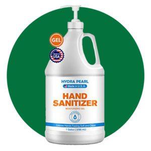 Hydra Pearl Hand Sanitizer Gel - 70% Alcohol