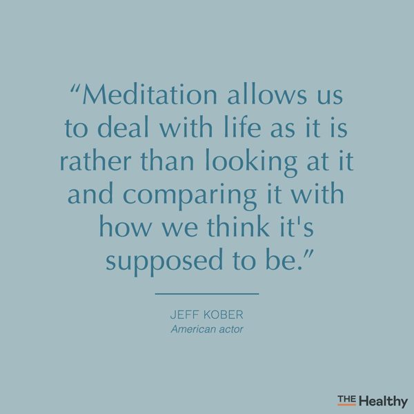 meditation quote card