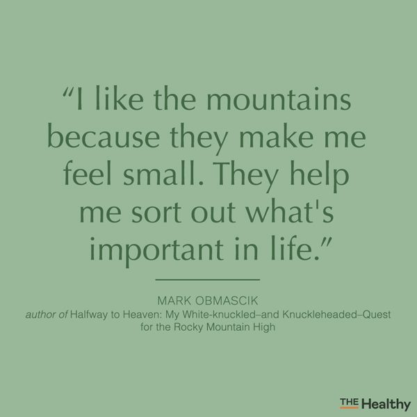 mountain quote card