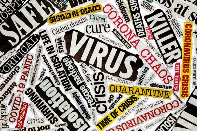 Coronavirus pandemic news