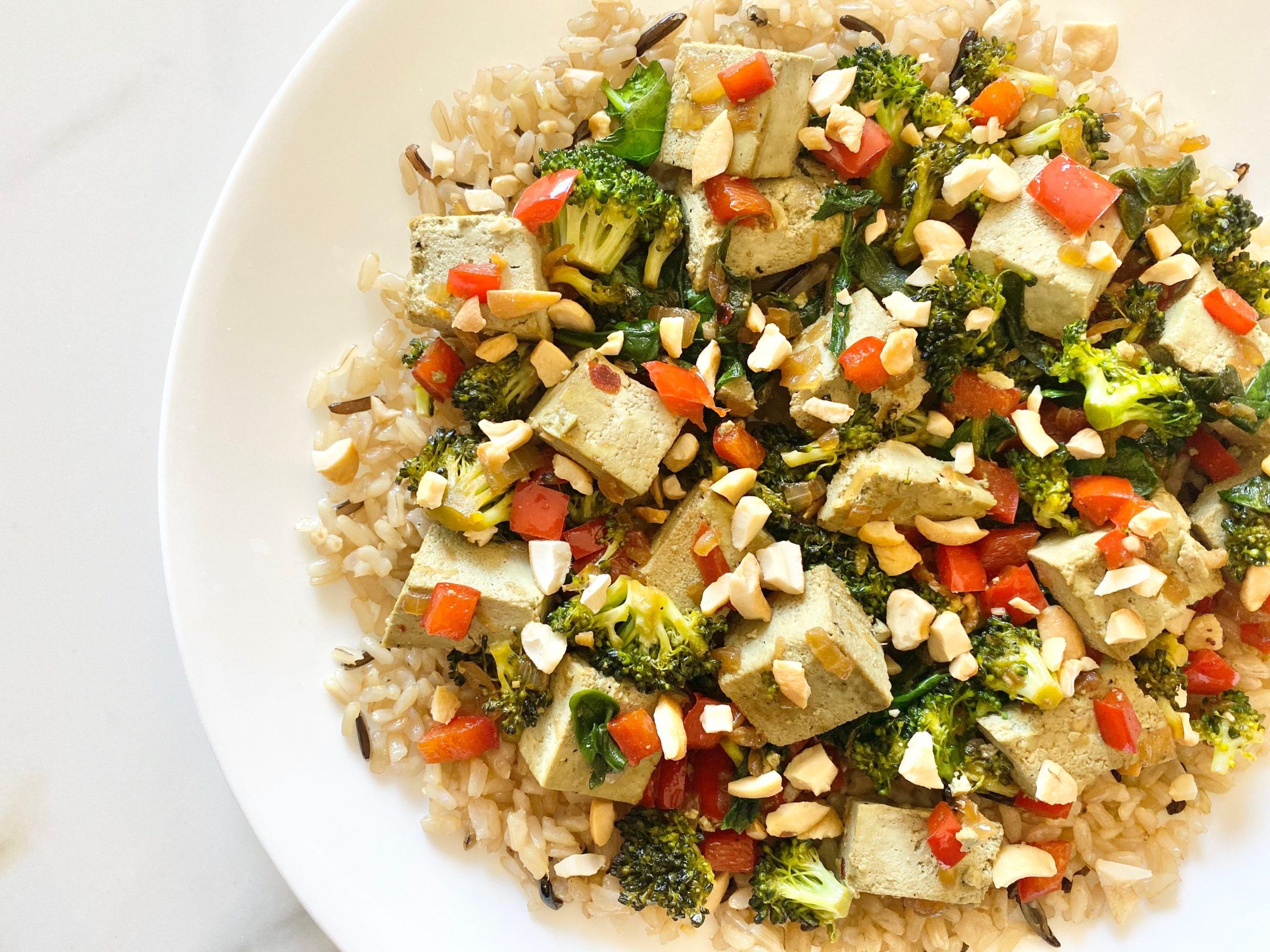 High Protein Vegan Stir Fry Recipe