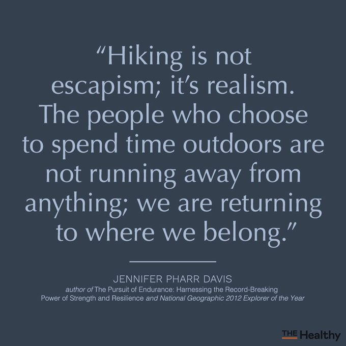 Hiking Quote Card