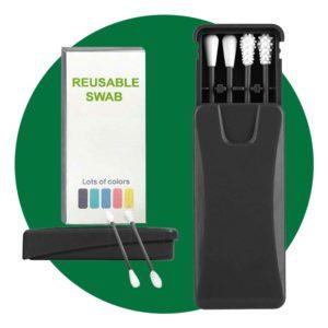 Uramoto Reusable Cotton Swabs