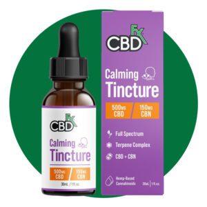 Cbdfx Calming Tincture