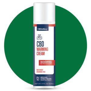Cbdistillery Broad Spectrum Cbd Warming Cream