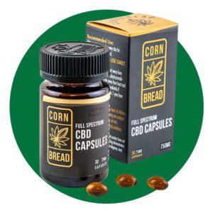Cornbread Full Spectrum CBD Capsules