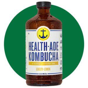 Health Ade Kombucha Ginger Lemon