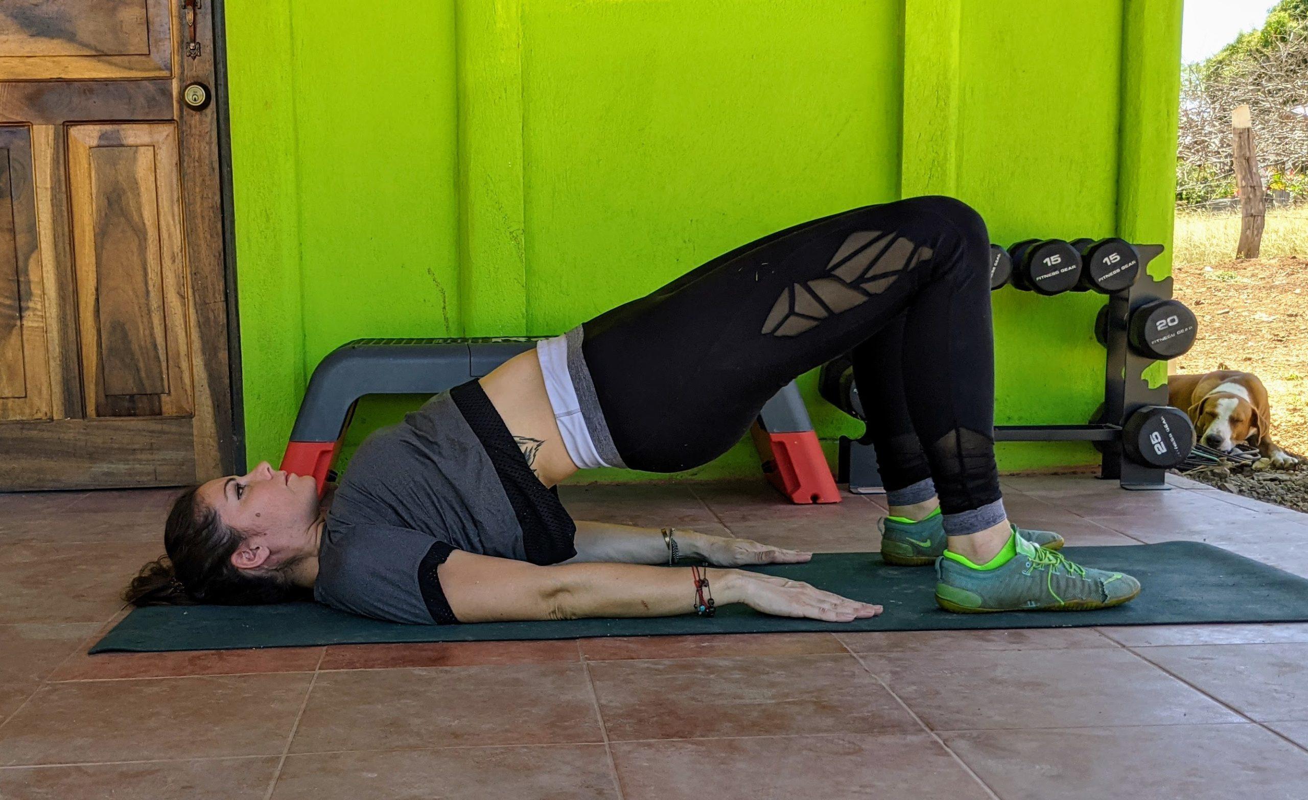 glute bridges exercise for lower back pain