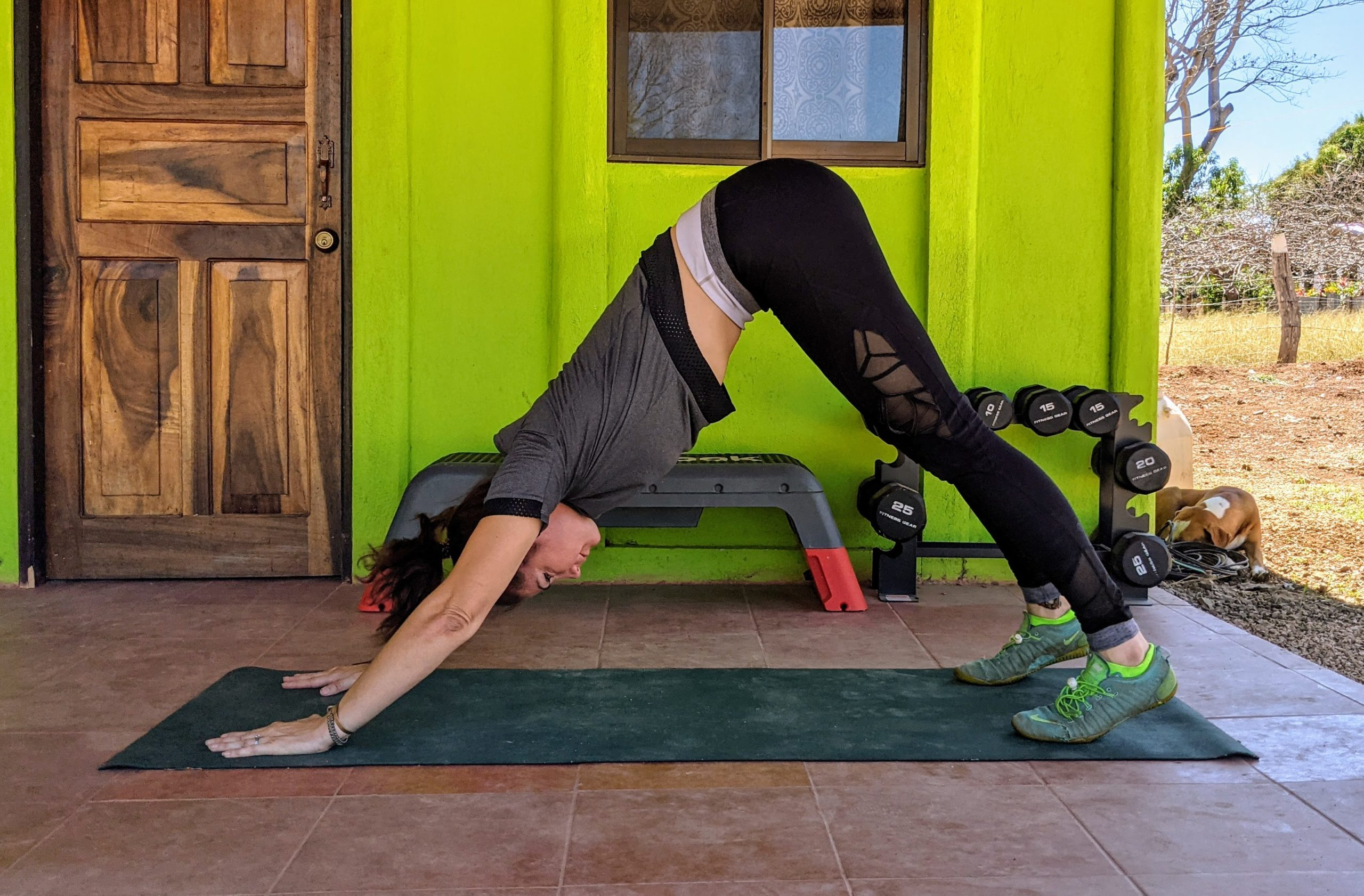 yoga pose for lower back pain