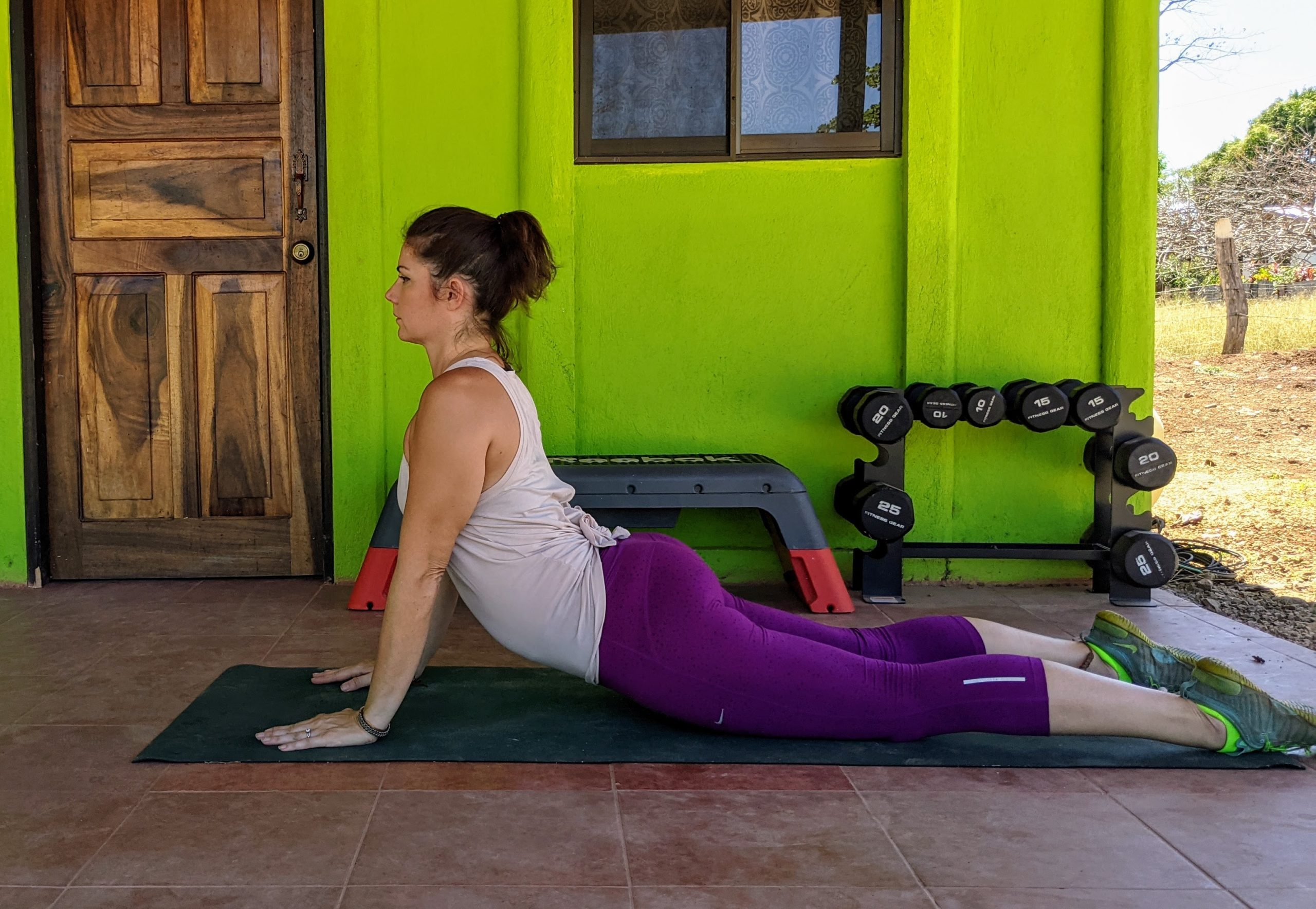 prone press up exercise for lower back