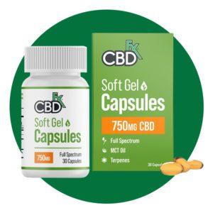 Cbdfx Soft Gel Capsules