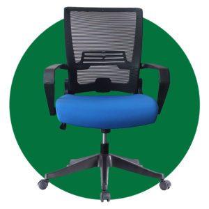 Cjs Kiro Foldable Folding Swivel Home Mesh Back Task Chair