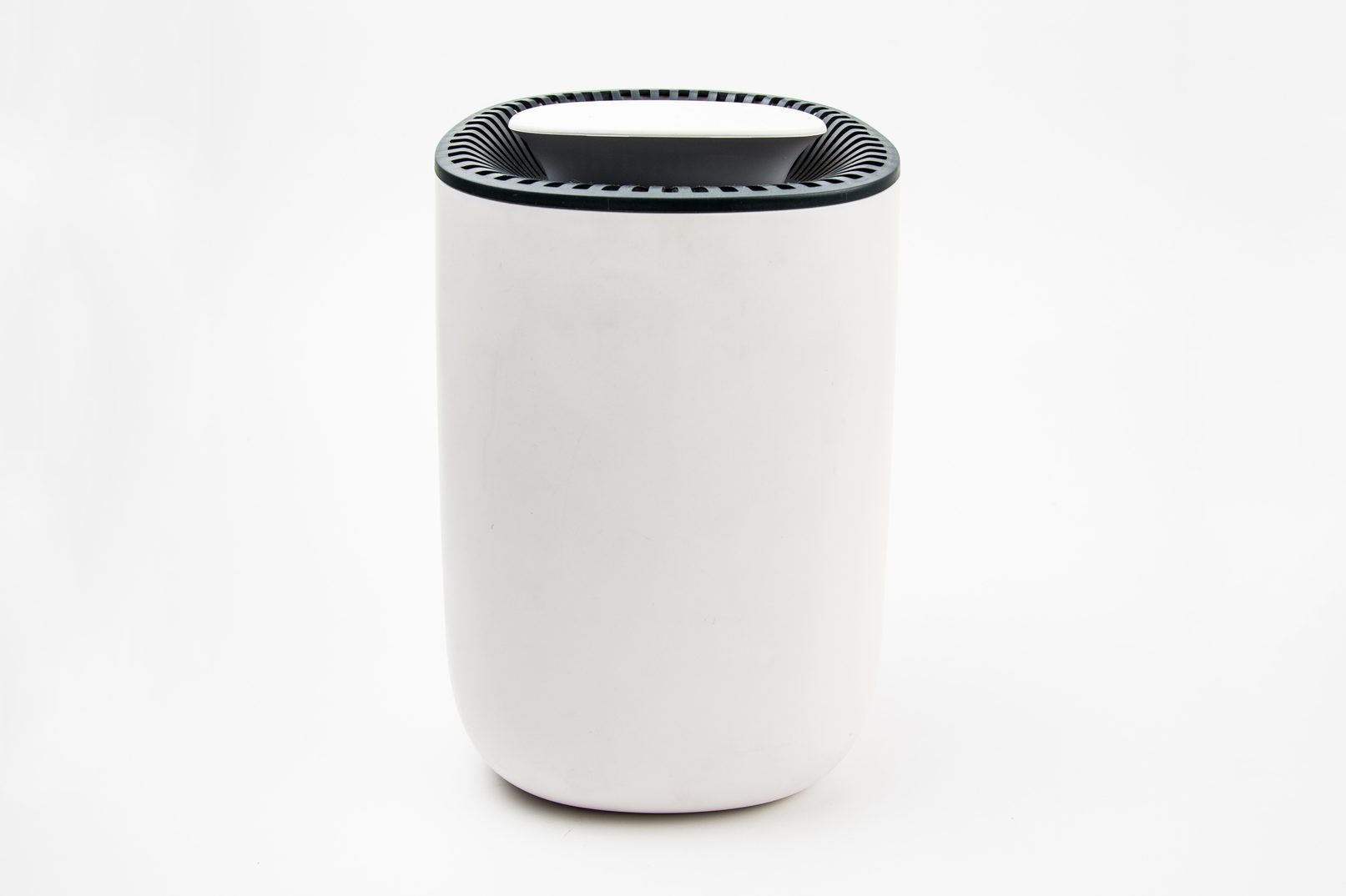 Close-Up Of Air Purifier Against White Background