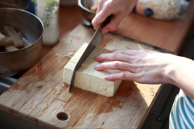 Cutting Tofu