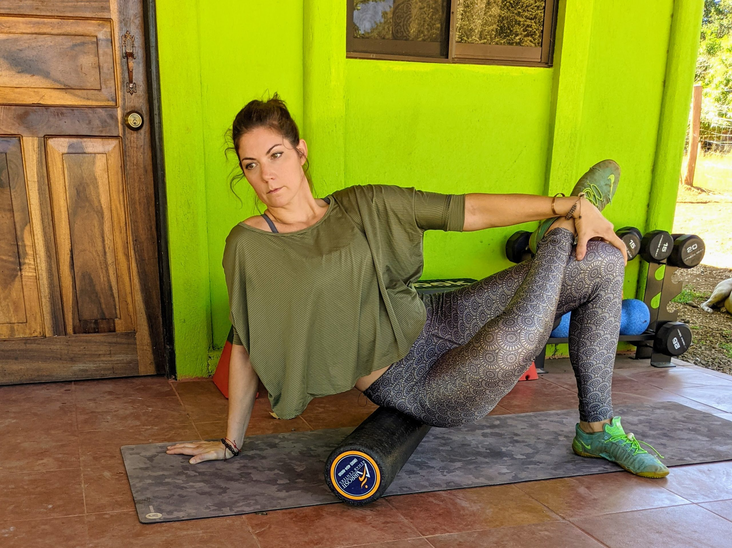 Glute roll exercise