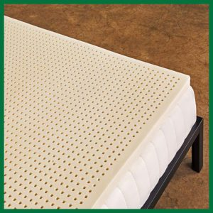 Sleep On Latex Pure Green 100 Percent Natural Latex Mattress Topper