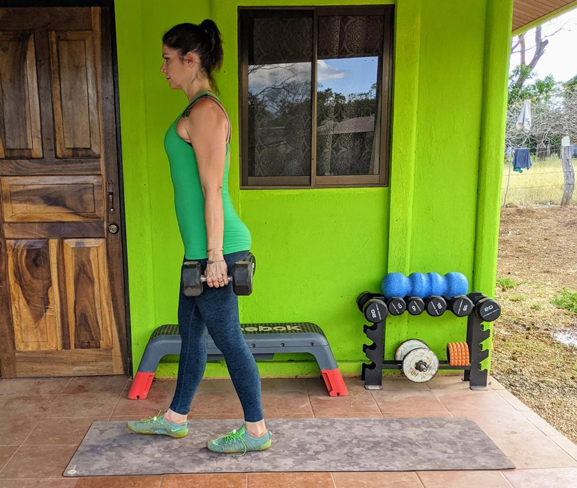 Farmers Walk Suitcase Exercise01