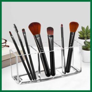 Acrylic Makeup Brush Organizer Holder