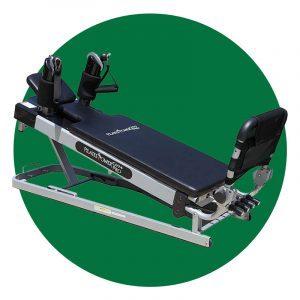 Pilates Power Gym Pro 3 Elevation Mini Reformer