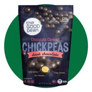 The Good Bean Dark Chocolate Covered Chickpeas