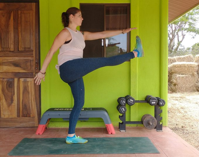 dynamic stretching example